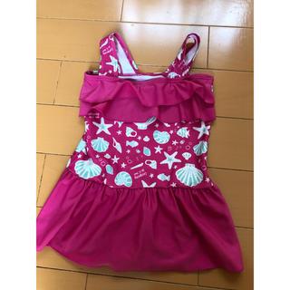 ブリーズ(BREEZE)の新品 ブリーズ 130cm ピンク シェル柄 水着 スイムウェア UV(水着)