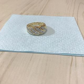 プラチナ900  ゴールドリング(リング(指輪))