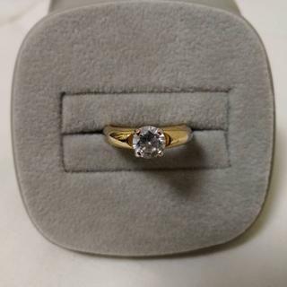 マルタンマルジェラ(Maison Martin Margiela)のマルタンマルジェラ 11 デザインリング 指輪 金 ゴールド 宝石 Martin(リング(指輪))