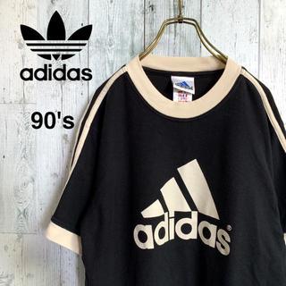 アディダス(adidas)の90's adidas サイドライン Tシャツ(Tシャツ/カットソー(半袖/袖なし))