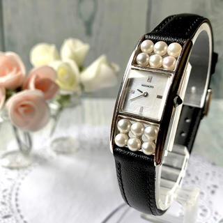 ミキモト(MIKIMOTO)の【美品】MIKIMOTO ミキモト  腕時計 12連パール 腕時計 レディース(腕時計)