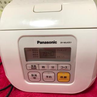パナソニック(Panasonic)のPanasonic 炊飯器 SR-MLK051 3号炊き(炊飯器)