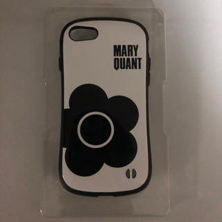 マリークワント(MARY QUANT)のマリークワント×iFace iPhone7/8ケース ホワイト(iPhoneケース)