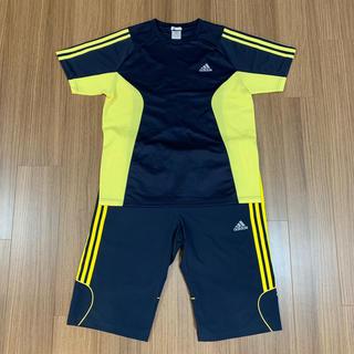 アディダス(adidas)のadidas CLIMACOOLジャージ 半袖T&ハーフパンツ (ジャージ)