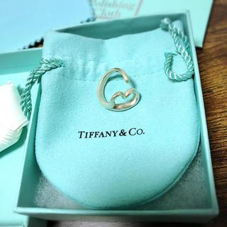 ティファニー(Tiffany & Co.)の【Tiffany】オープンハート/シルバーリング(リング(指輪))