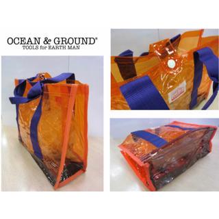 マーキーズ(MARKEY'S)の【未使用】ocean&ground プールバッグ オレンジ×パープル(その他)