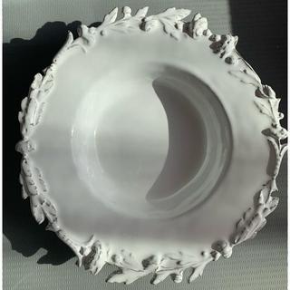 アッシュペーフランス(H.P.FRANCE)の新品未使用 ルギャール ローズ&レース二枚セット(食器)