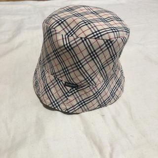 バーバリー(BURBERRY)のバーバリー 帽子 リバーシブル ベビー 45cm(帽子)