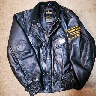 イエローコーン(YeLLOW CORN)のイエローコーン 革製ライダースジャケット (ライダースジャケット)