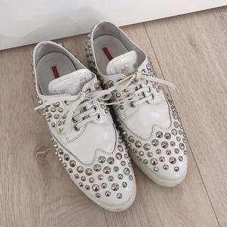 プラダ(PRADA)のPRADA(ローファー/革靴)