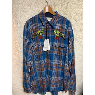グッチ(Gucci)の新品未使用 定価18万 GUCCI ネルシャツ オーバーサイズ(シャツ)
