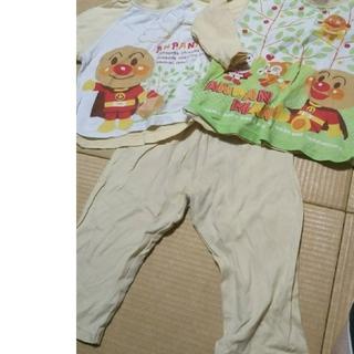アンパンマン(アンパンマン)のアンパンマン 長袖パジャマ ツートップサイズ80(パジャマ)
