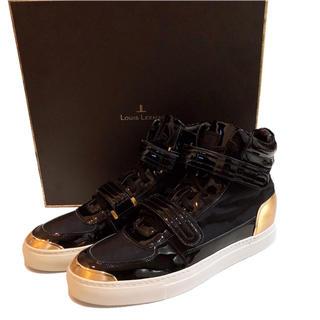 【新品】LOUIS LEEMAN スニーカー 靴 ハイカット メンズ 正規品(スニーカー)