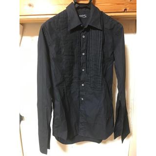 マーガレットハウエル(MARGARET HOWELL)のMargaret Howell シャツ ブラック プリーツ(シャツ)