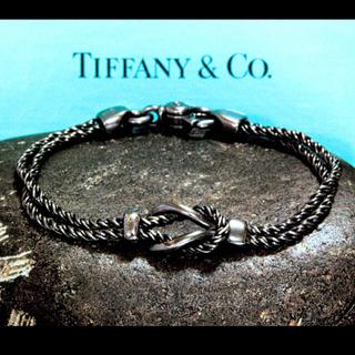 ティファニー(Tiffany & Co.)の old tiffany ダブルロープチェーンブレス ティファニー(ブレスレット)