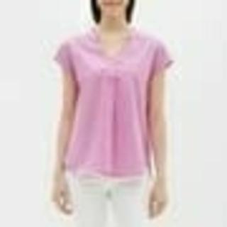 ジーユー(GU)の新品未使用 タグ付き 可愛いいチェックスキッパーシャツ(シャツ/ブラウス(半袖/袖なし))