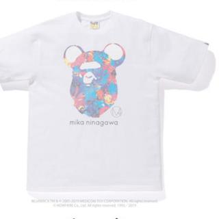 アベイシングエイプ(A BATHING APE)のBAPE mika ninagawa BE@R APE HEAD TEE(Tシャツ/カットソー(半袖/袖なし))