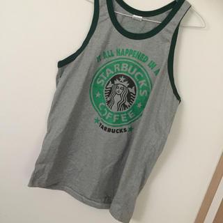 スターバックスコーヒー(Starbucks Coffee)のスターバックスコーヒー タンクトップ(Tシャツ/カットソー(半袖/袖なし))