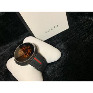 グッチ(Gucci)の限界値下げ 新品未使用 定価18万 アイウォッチ GUCCI 時計(ラバーベルト)