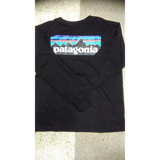 パタゴニア(patagonia)のpatagonia パタゴニア メンズ長袖ロングT シャツ 黒 2サイズ(Tシャツ/カットソー(七分/長袖))