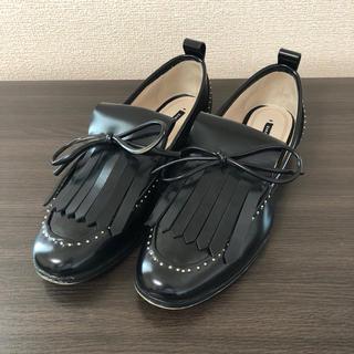 ZARA - ♡美品♡ザラ パールスタッズ付きローファー