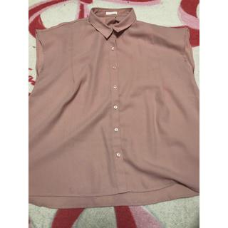 ジーユー(GU)のジーユー エアリーシャツ(シャツ/ブラウス(半袖/袖なし))
