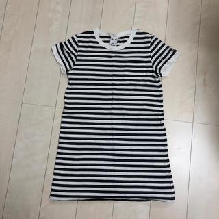 エックスガール(X-girl)のX-girl ワンピース Tシャツワンピース(Tシャツ(半袖/袖なし))