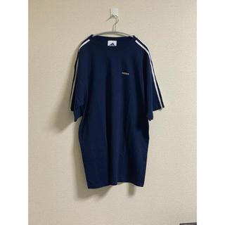 アディダス(adidas)のadidas  90s パフォーマンスロゴ Tシャツ オーバーサイズ(Tシャツ/カットソー(半袖/袖なし))