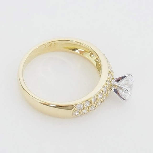 PonteVecchio(ポンテヴェキオ)の豪華 極美品【ポンテヴェキオ】K18YG×ダイヤモンド 0.82ct リング レディースのアクセサリー(リング(指輪))の商品写真
