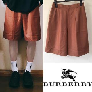 バーバリー(BURBERRY)の90's Burberry バーバリー ショートパンツ  ハーフパンツ(ショートパンツ)