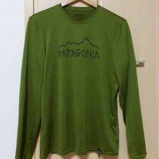 パタゴニア(patagonia)のパタゴニア キャプリーン 長袖Tシャツ 薄手(Tシャツ/カットソー(七分/長袖))