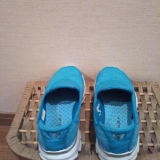 SKECHERS(スケッチャーズ)のSKETCHÊRS♥ブルーGOGAプラス &ピンク レディースの靴/シューズ(スリッポン/モカシン)の商品写真