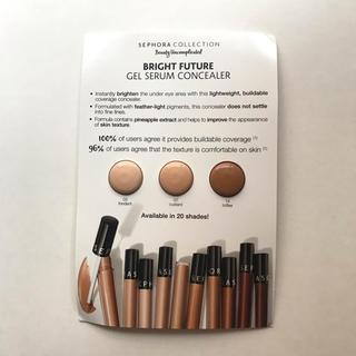 セフォラ(Sephora)のセフォラ コンシーラー サンプル 3色 Sephora 海外コスメ 試供品(コンシーラー)