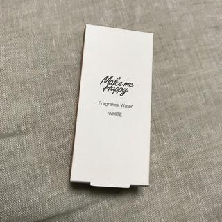 キャンメイク(CANMAKE)の新品☆メイクミーハッピー   フレグランスウォーターWHITEホワイト(ボディローション/ミルク)