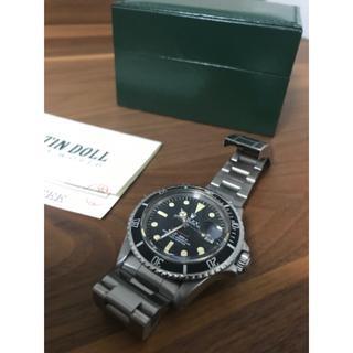 ロレックス(ROLEX)のブルースカイ様専用ロレックス サブマリーナー・デイト 1680 赤サブ 希少 ①(腕時計(アナログ))