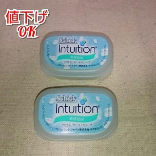 ピーアンドジー(P&G)のイントゥイション 敏感肌用 替刃 2個(脱毛/除毛剤)