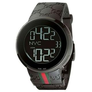 グッチ(Gucci)のGUCCIグッチアイグッチYA114207黒新品(腕時計(デジタル))