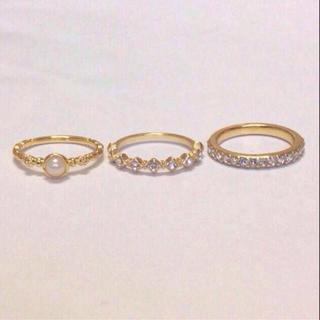 スワロフスキーリング単品(リング(指輪))