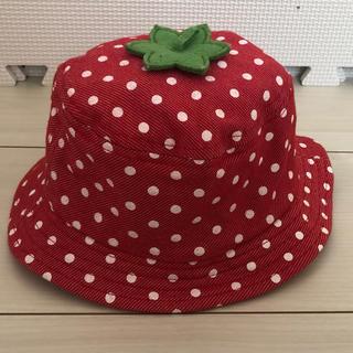 2c2d2eae2ede94 西松屋 - ベビー帽子 48cm 女の子 キッズ ハットの通販|ラクマ