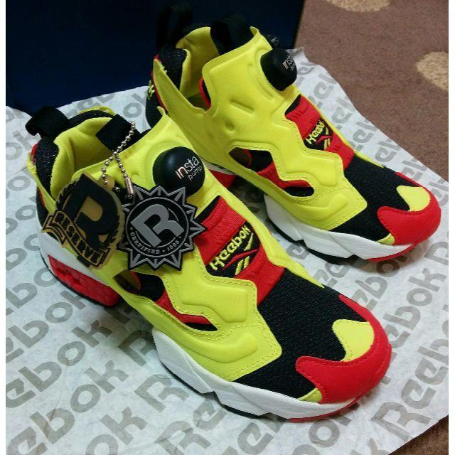 Reebok(リーボック)の入手困難 インスタ ポンプ フューリー シトロン 1stモデル リーボック メンズの靴/シューズ(スニーカー)の商品写真