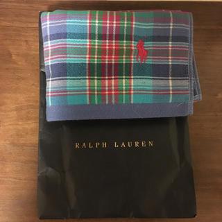 ラルフローレン(Ralph Lauren)のラルフローレン タオルハンカチ(ハンカチ/ポケットチーフ)