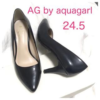エージーバイアクアガール(AG by aquagirl)のエナメルパンプス(ハイヒール/パンプス)