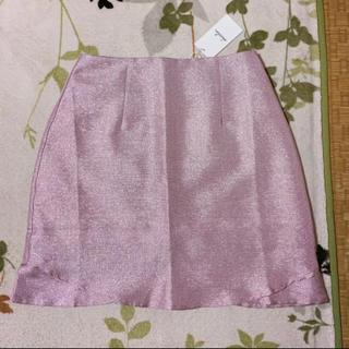 ダズリン(dazzlin)のdazzlin/グリッター台形スカート(ミニスカート)