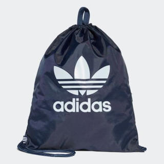 adidas - 新品アディダス ナップサック リュック プールバッグ 鞄シューズケース ネイビー