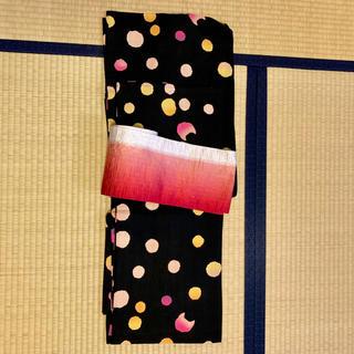ツモリチサト(TSUMORI CHISATO)のゆかた 浴衣 ツモリチサト 柄: ドット ねこ(浴衣)