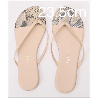 プラージュ(Plage)のtkees two tone tong sandal 23.5cm(ビーチサンダル)