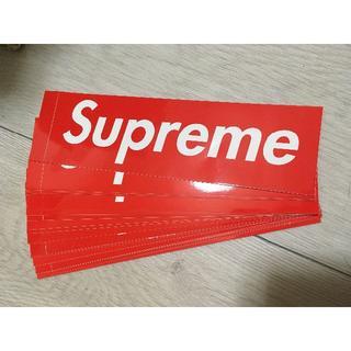 シュプリーム(Supreme)の正規品 supreme BOXロゴ ステッカー ボックスロゴ シュプリーム(その他)
