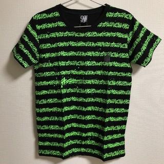 バンダイ(BANDAI)のジョジョの奇妙な冒険 オラオラボーダーT Sサイズ 新品(Tシャツ/カットソー(半袖/袖なし))