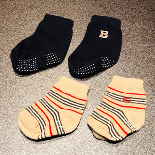 バーバリー(BURBERRY)のBurberry靴下2足セット(靴下/タイツ)