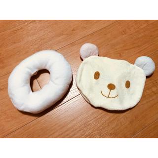 ミキハウス(mikihouse)のミキハウス くまちゃんの授乳用まくら ドーナツ枕 (その他)